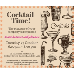 1230 TWC & FSBBromley - Cocktail Time!