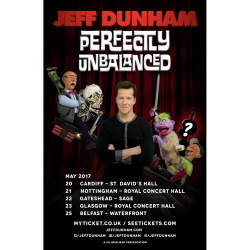 JEFF DUNHAM - 'PERFECTLY UNBALANCED'