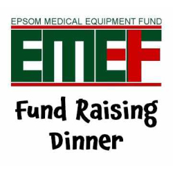 EMEF Epsom Medical Equipment Fund – Charity Dinner @epsom_sthelier
