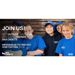 Junior Sea Cadets - for boys and girls aged between 10 and 12