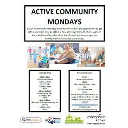 Active Community Mondays