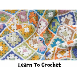 Learn To Crochet Half Day Workshop at @TheStitchMouse #Epsom