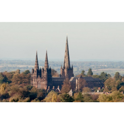 Mr Turner Comes to Lichfield - Views of Lichfield Cathedral