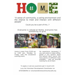 Home Community Cafe, Didsbury
