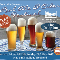 Real Ale and Cider Festival at The Last Drop Village