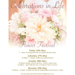 St Mary's Church Theydon Bois Flower Festival 2017