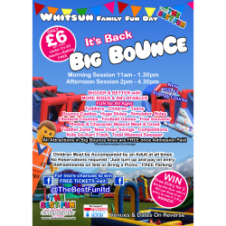 Big Bounce Whitsun Funday  Brownhills