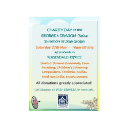 Charity Day at the George and Dragon