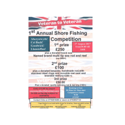 1st Annual Shore Fishing Championship