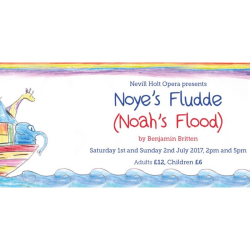 Noah's Flood by Benjamin Britten at Nevill Holt Hall