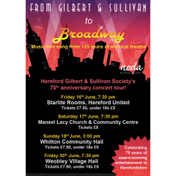 From Gilbert and Sullivan to Broadway - Summer Concert