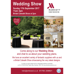 The Swindon Marriott Hotel Wedding Show