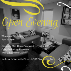 Elemis Biotech Open Evening at Five Cedars with bubbly and treats!