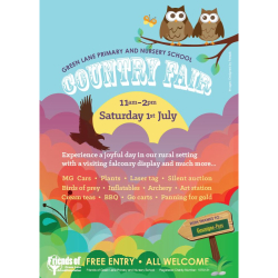 Green Lane Nursery and Primary School Country Fair