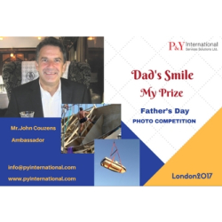 """Dad's Smile, My Prize"" Father's Day Photo Competition London 2017"