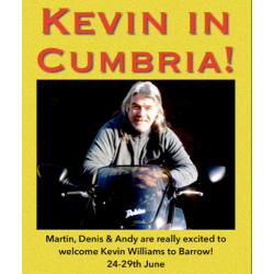 Survival Skills with Kevin Williams at Barrow Biking Bonanza