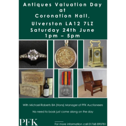 Antiques Valuation Drop In Afternoon