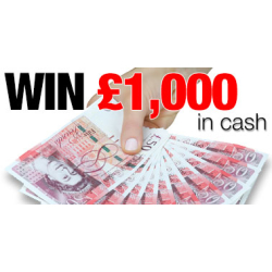 Win £1,000 for FREE!