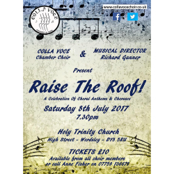 'Raise the Roof!' Summer Concert