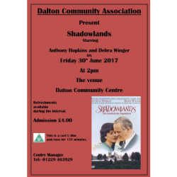 Dalton Community Association presents: Shadowlands
