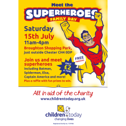 Meet the Superheroes Family Day!