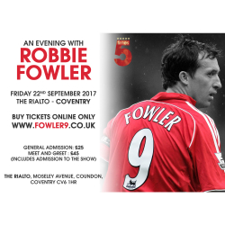 An Evening with Robbie Fowler