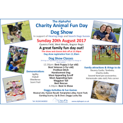 The AlphaPet Charity Animal Fun Day and Dog Show