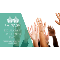 Social Care Recruitment Day with Twin Pines Recruitment