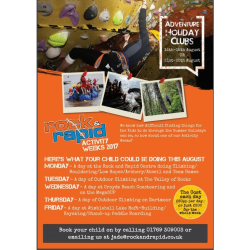 Rock & Rapid Activity Weeks 2017
