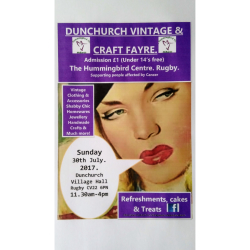 Dunchurch Vintage and Craft Fayre