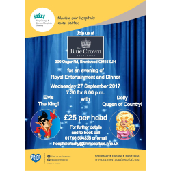 Evening of Royal Entertainment & Dinner