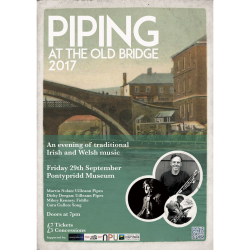 Piping at the Old Bridge 2017