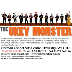 The Ukey Monster Live at Hermon!