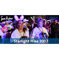 Sue Ryder Starlight Hike - A Night to Remember