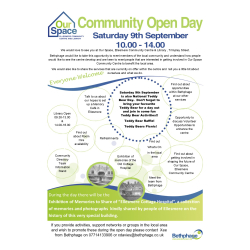 Bethphage Community Open Day at Our Space Ellesmere, Community Cente and Library