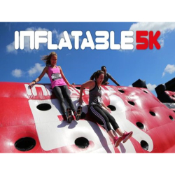 Inflatable 5k Obstacle Course Run