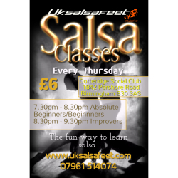 Kings Norton Beginners Salsa Classes