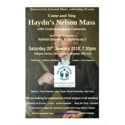 Come and Sing Haydn's Nelson Mass