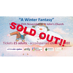 """A Winter Fantasy"" Concert - sold out."