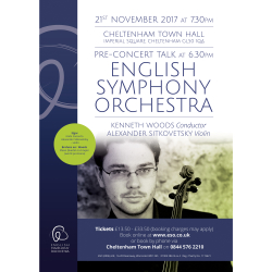 The English Symphony Orchestra perform Elgar, and a Brahms World Premiere
