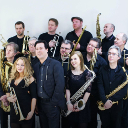 Fabulous big band jazz swing and Latin with Hot Orange Big Band at Hideaway