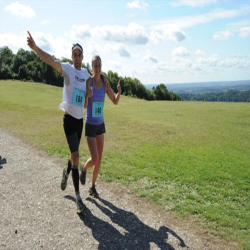 North Downs Half-Marathon and Marathon, July 2018
