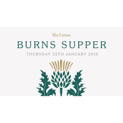 Burns Supper at The Litton