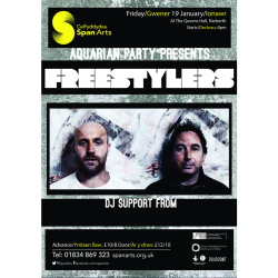 Span Arts presents:  The Aquarian Party: The Freestylers