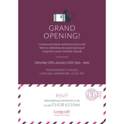 Grand Opening | Longcroft Luxury Cat Hotel Liphook, Hampshire