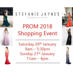 Prom 2018 Shopping Event.