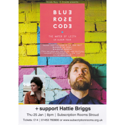 Blue Rose Code with support from Hattie Briggs