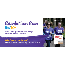 Stroke Association Resolution Run - Black Park Country Park