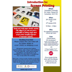 Screen Print workshop