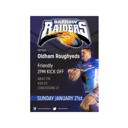 Barrow Raiders vs Oldham Roughyeds